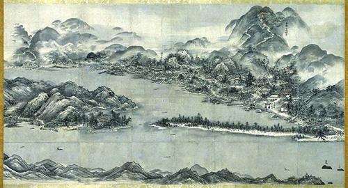 veduta di Amanohashidate